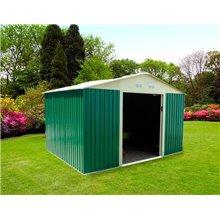 Caseta metálica 7,74m² Bristol verde Gardiun