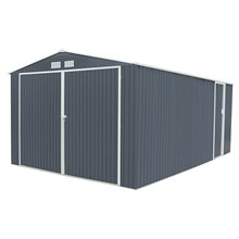 Garaje metálico 20,52m² Oxford gris Gardiun