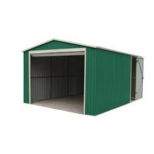Garaje metálico 20,09m² Essex verde Gardiun