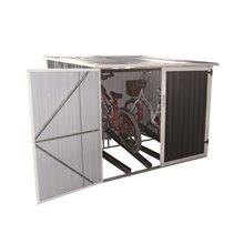 Caseta metálica bicicletas 4,02m² Veloc II Gardiun