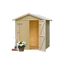 Cobertizo madera Daniel 4m² Gardiun