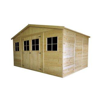 Caseta de madera 13,24m² Vladimir Gardiun
