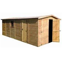Garaje de madera 19,96m² Mikhail II Gardiun