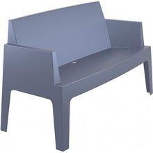 Sofá de exterior gris URBAN de Resol
