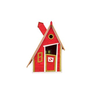 Casita infantil 1,24m² Peter rojo Outdoor Toys