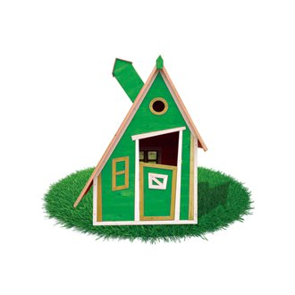 Casita infantil 1,24m² Peter verde Outdoor Toys