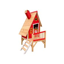 Casita infantil 2,82m² Alicia roja Outdoor Toys