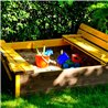Arenero infantil 118x118x22cm Antz Outdoor Toys