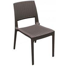 Pack de 4 sillas marrón Modena Resol