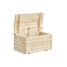 Arcón de madera 81x50x47cm Outdoor Toys
