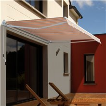 Toldo de pared 3x2,5m Outsunny