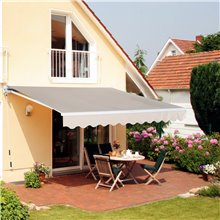 Toldo de pared 4x2,5m Outsunny