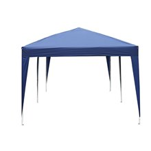 Carpa plegable 6x3x2,55m azul Outsunny