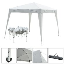 Carpa plegable 3x3x2,4m blanco Outsunny