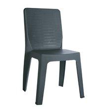 Conjunto de 30 sillas gris oscuro Iris Resol