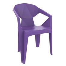 Set de 24 sillones monobloc violeta Delta Resol