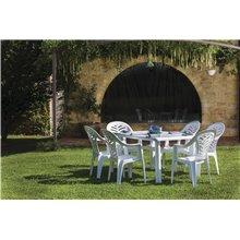 Pack de 25 sillones blancos Palma Resol