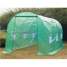 Invernadero verde 450x200x200 Outsunny