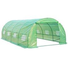 Invernadero verde 600x300x200 HOMCOM