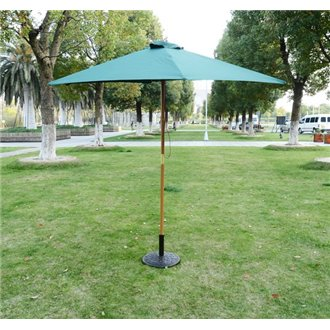 Parasol redondo Verde Outsunny