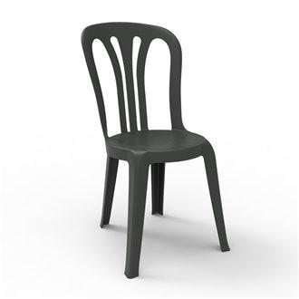 Set de 22 sillas color antracita Garrotxa Resol