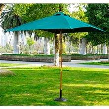 Parasol Cuadrado Verde Outsunny