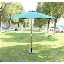 Parasol Redondo Verde245x300 Outsunny