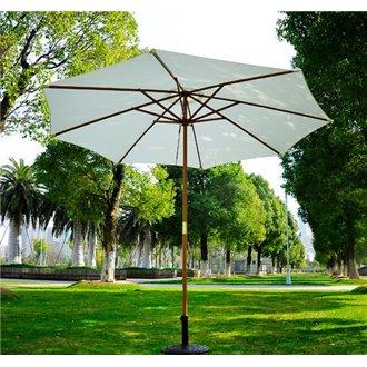 Parasol Redondo Crema 250x300 Outsunny
