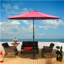 Parasol Reclinable Vino Outsunny