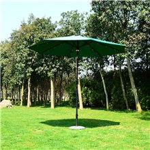 Parasol Reclinable LED+ Bluetooh Outsunny