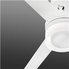 Ventilador blanco con luz ICE de Faro