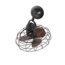 Ventilador marrón KEIKI de Faro