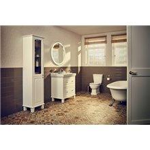 Conjunto de mueble 80cm dos cajones y lavabo Carmen Roca