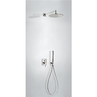 Kit de ducha acero MONO-TERM empotrado Tres