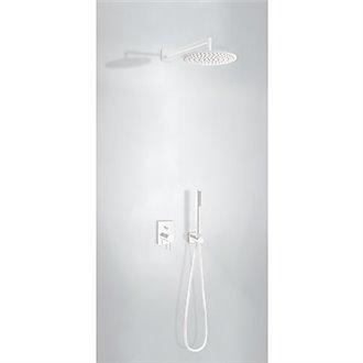 Kit de ducha blanco mate MONO-TERM empotrado Tres