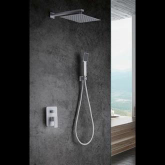 Conjunto de ducha Imex Blanco Dublin