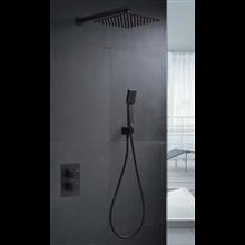 Conjunto de ducha Imex Negro Cies