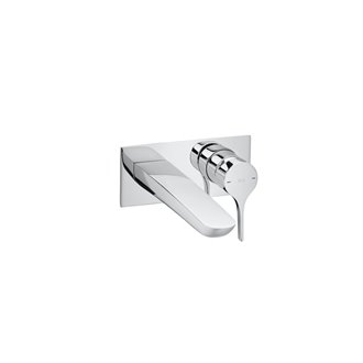 Grifo de lavabo Insignia a pared Roca