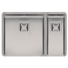 Fregadero Texas Doble 40x40/18x40 Inox Galindo