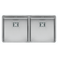 Fregadero Texas Doble 40x40/40x40 Inox Galindo