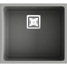 Fregadero de 1 cuba Metalizado 50 x 45cm Zie Poalgi