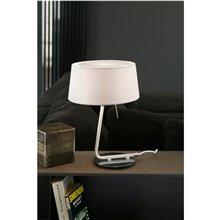 Lámpara sobremesa blanca HOTEL 20W