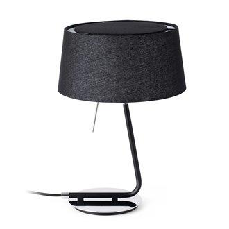 Lámpara sobremesa negra HOTEL 20W Faro