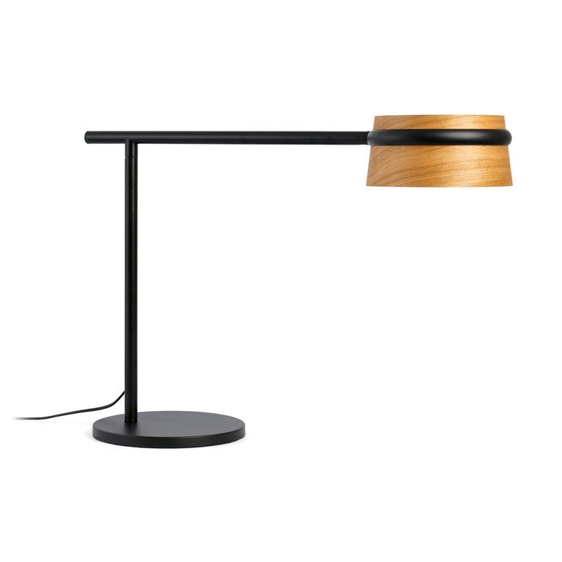 Lámpara sobremesa negra LOOP 6W Faro