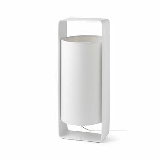 Lámpara sobremesa blanca LULA-G 20W Faro