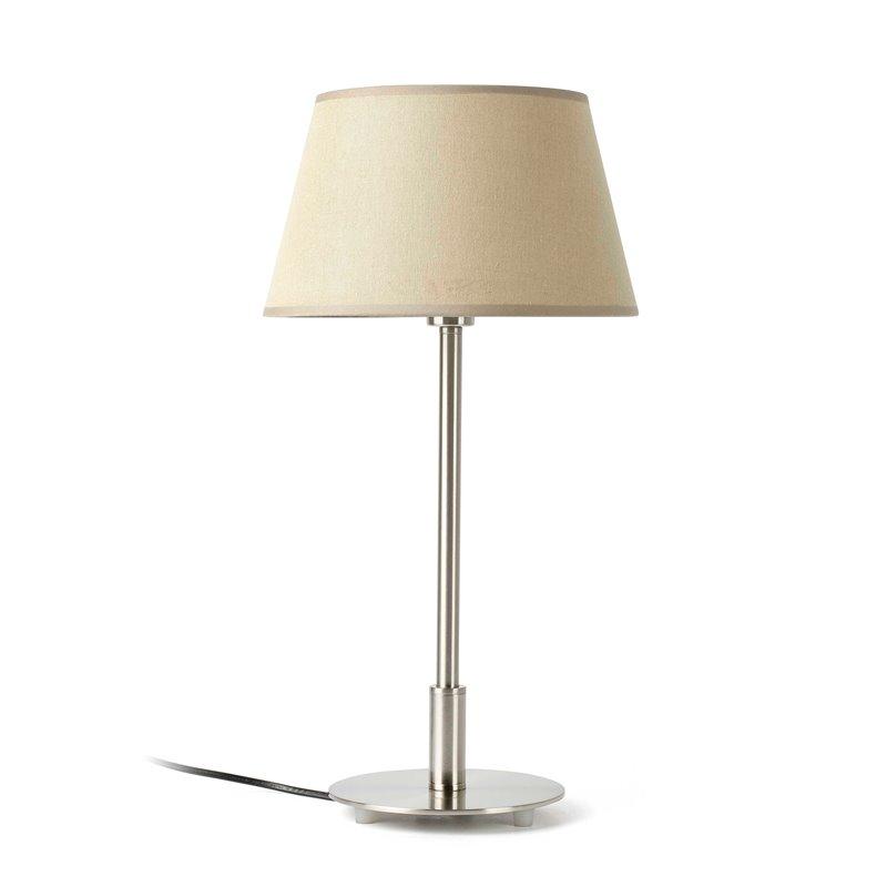 Lámpara sobremesa beige MITIC 60W Faro