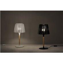 Lámpara sobremesa negra MIX 60W Faro