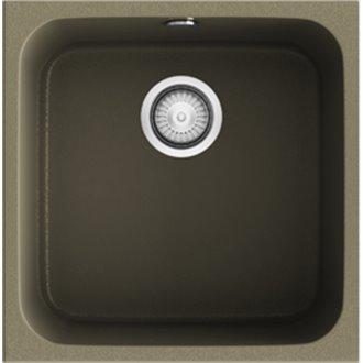 Fregadero de 1 cuba Albero 44 x 44,5cm Gandia Poalgi