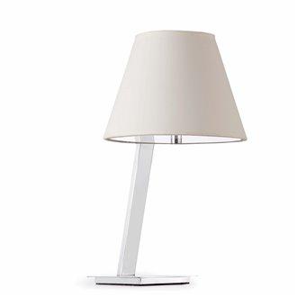 Lámpara sobremesa blanca MOMA 60W Faro