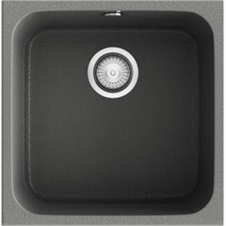 Fregadero de 1 cuba Concret 44 x 44,5cm Gandia Poalgi